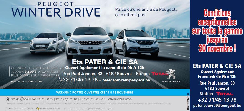 Peugeot Pater Souvret novembre 2018